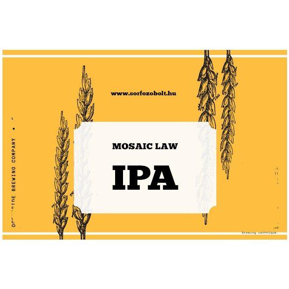 Mosaic Law IPA receptcsomag