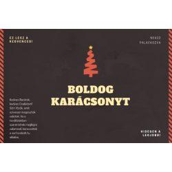 10 db karácsonyi sörösüveg címke 1
