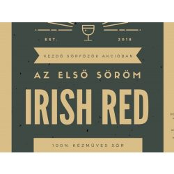 Irish Red receptcsomag (4L) Let's Brew Kithez