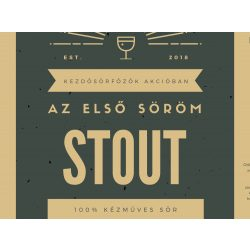 Irish Stout receptcsomag (4L ) Let's Brew Kithez
