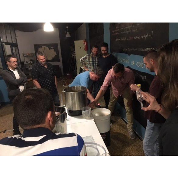 SÖRFŐZŐ TANFOLYAM és közösségi sörfőzés - 2021. október 1. péntek 16h-22h
