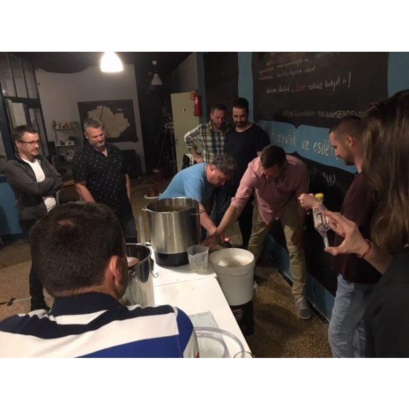 SÖRFŐZŐ TANFOLYAM és közösségi sörfőzés - 2021. július 9. este